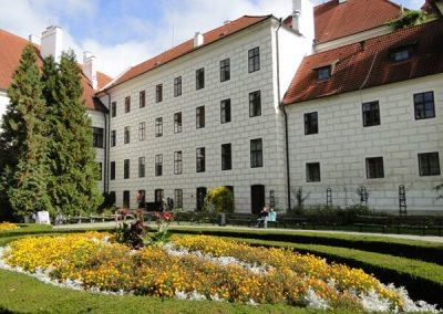 Zámecká zahrada Třeboň